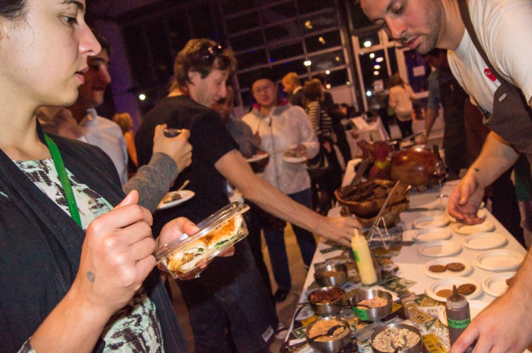 Love Food Fest event by Action Against Hunger. Tuesday, October 17 2015 at Artscape in Toronto