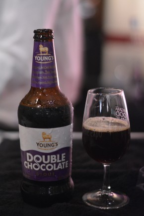 Surprisingly well-balanced: Young's Double Chocolate - 1 tix