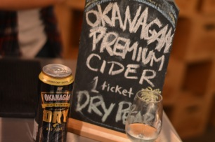 """Low carbonation and sweetness, what I want in a cider - Okanagan Premium Cider in """"Dry Pear"""""""