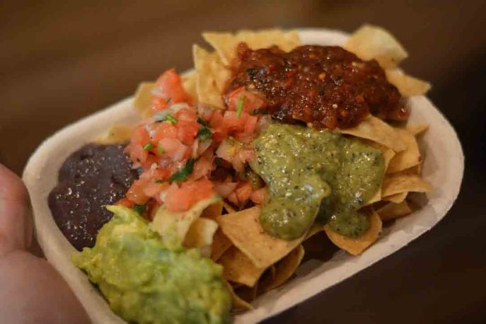 Mad Mexican tortillas and salsa, they make my favourite salsas - 5 tix