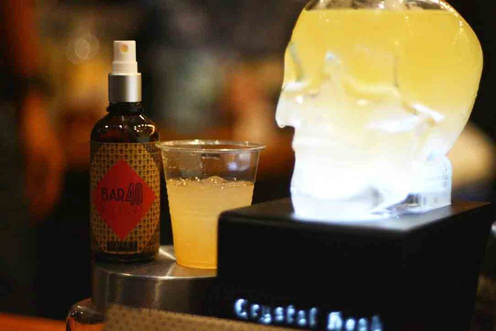 Adding Bar40 to any drink to emphasize flavours or compliment another - $4
