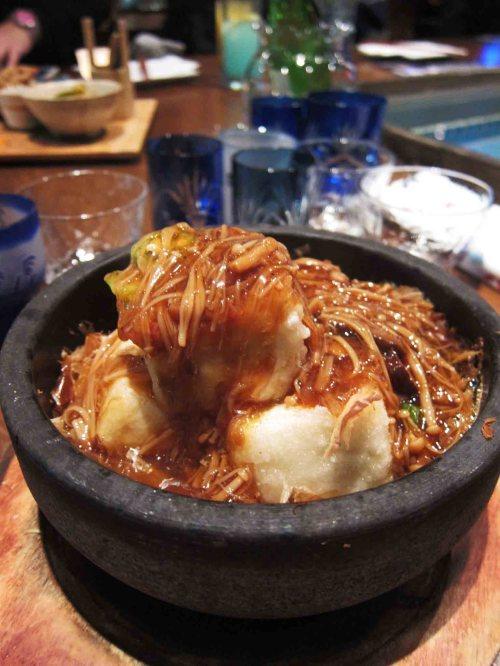 Stone Bowl Mushroom Tofu ($7.8)