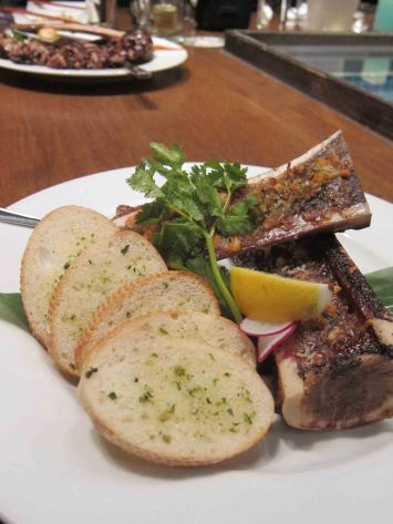 Grilled Bone Marrow ($11.8)
