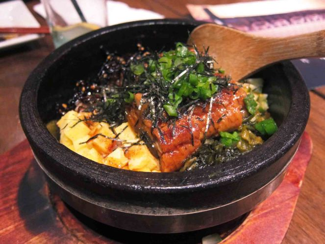 Hot Stone Bowl Unagi Don ($12.8)