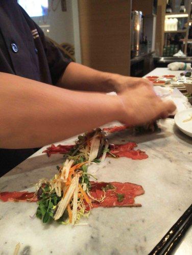 Beef Carpaccio Roll
