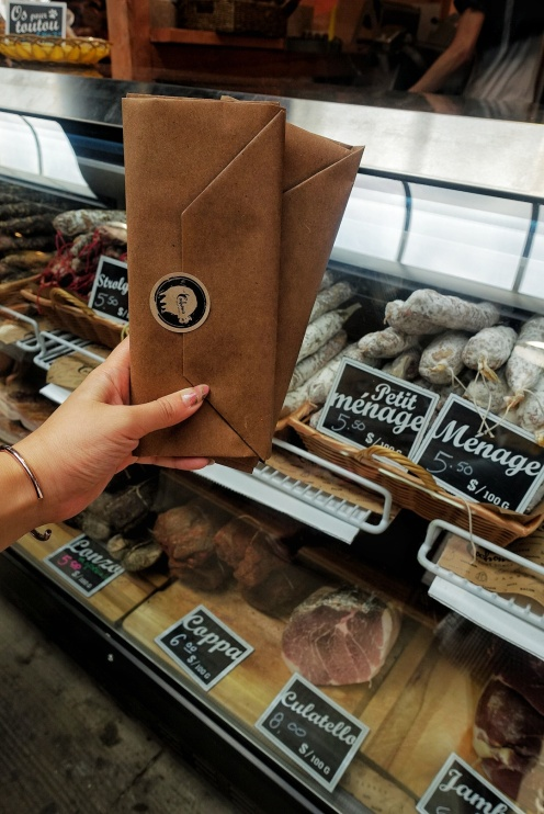 A few fine meats from Le Cochon - don't forget to ask for samples!